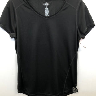 Primary Photo - BRAND: ST JOHNS BAY STYLE: ATHLETIC TOP SHORT SLEEVE COLOR: BLACK SIZE: S SKU: 200-200202-5551