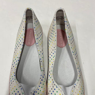 Primary Photo - BRAND: VOLATILE STYLE: SHOES FLATS COLOR: WHITE SIZE: 8.5 OTHER INFO: POLKADOTS SKU: 200-200192-6110