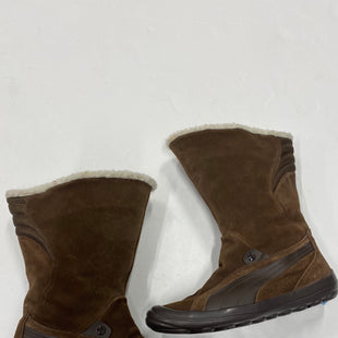 Photo #3 - BRAND: PUMA STYLE: BOOTS ANKLE COLOR: BROWN SIZE: 7.5 SKU: 200-200201-249