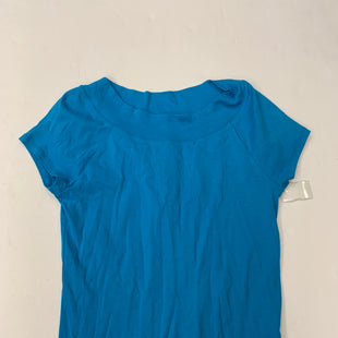 Primary Photo - BRAND: JONES NEW YORK STYLE: TOP SHORT SLEEVE BASIC COLOR: TURQUOISE SIZE: L SKU: 200-200178-16809