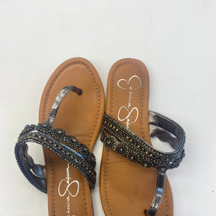 Primary Photo - BRAND: JESSICA SIMPSON STYLE: SANDALS FLAT COLOR: BROWN SIZE: 9.5 SKU: 200-200199-6865R