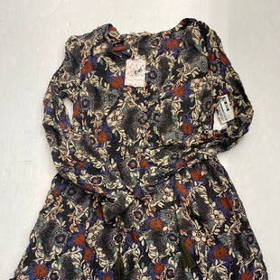 Primary Photo - BRAND: FREE PEOPLE STYLE: DRESS SHORT LONG SLEEVE COLOR: FLOWERED SIZE: XS SKU: 200-200202-4213