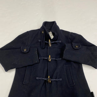 Primary Photo - BRAND: BANANA REPUBLIC STYLE: COAT SHORT COLOR: NAVY SIZE: M SKU: 200-200164-1227