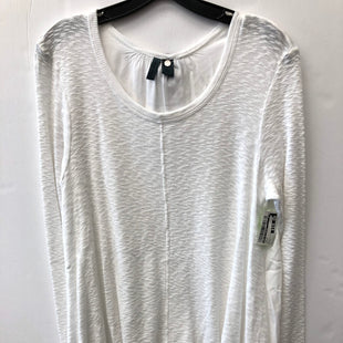 Primary Photo - BRAND: LEFT OF CENTER STYLE: TOP LONG SLEEVE COLOR: WHITE SIZE: L SKU: 200-200199-20436