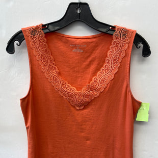 Primary Photo - BRAND: ANN TAYLOR O STYLE: TOP SLEEVELESS COLOR: ORANGE SIZE: S SKU: 200-200178-28311
