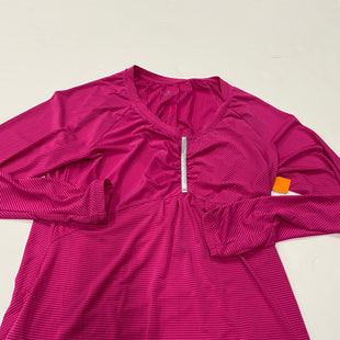 Primary Photo - BRAND: ATHLETA STYLE: ATHLETIC TOP COLOR: PINK SIZE: L SKU: 200-200201-415