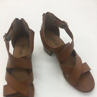 Primary Photo - BRAND: TOMS STYLE: SANDALS HIGH COLOR: BROWN SIZE: 8 SKU: 200-200204-1216