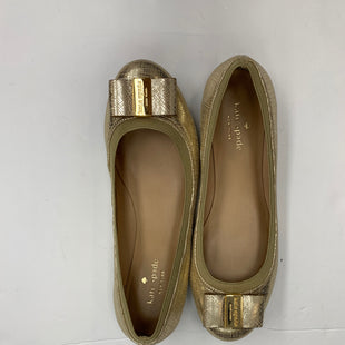 Primary Photo - BRAND: KATE SPADE STYLE: SHOES FLATS COLOR: GOLD SIZE: 8 SKU: 200-200178-26751