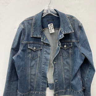 Primary Photo - BRAND: GAP STYLE: JACKET OUTDOOR COLOR: DENIM SIZE: 2X SKU: 200-200204-1256