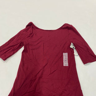 Primary Photo - BRAND: OLD NAVY STYLE: TOP LONG SLEEVE BASIC COLOR: RED SIZE: S SKU: 200-200199-12784