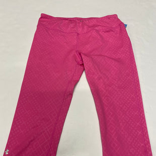 Primary Photo - BRAND: UNDER ARMOUR STYLE: ATHLETIC CAPRIS COLOR: PINK SIZE: M SKU: 200-200178-23658