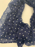 Photo #1 - BRAND: NEW YORK AND CO <BR>STYLE: SCARF <BR>COLOR: POLKADOT <BR>SKU: 200-200197-31095