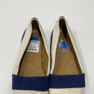 Primary Photo - BRAND: AEROSOLES STYLE: SHOES FLATS COLOR: BLUE WHITE SIZE: 6.5 SKU: 200-200178-4359