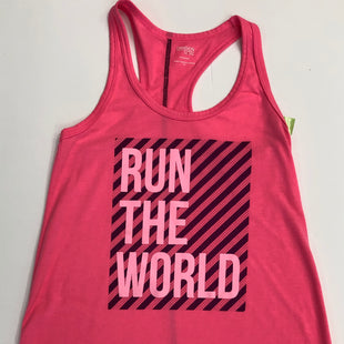 Primary Photo - BRAND: DANSKIN NOW STYLE: ATHLETIC TANK TOP COLOR: PINK SIZE: XS OTHER INFO: RUN THE WORLD SKU: 200-200204-1127