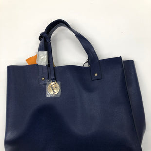 Primary Photo - BRAND: FURLA STYLE: HANDBAG DESIGNER COLOR: NAVY SIZE: MEDIUM SKU: 200-200178-27556