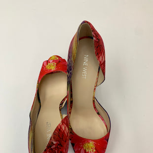 Primary Photo - BRAND: NINE WEST STYLE: SHOES HIGH HEEL COLOR: FLORAL SIZE: 8.5 SKU: 200-200204-1241