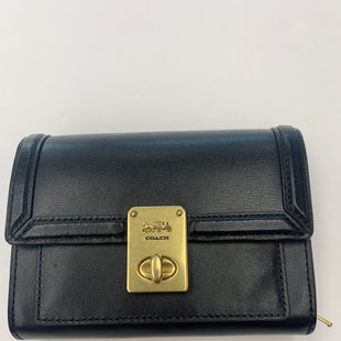 Primary Photo - BRAND: COACH STYLE: WALLET COLOR: BLACK SIZE: SMALL SKU: 200-200199-18949