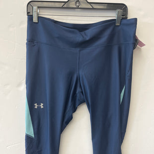Primary Photo - BRAND: UNDER ARMOUR STYLE: ATHLETIC CAPRIS COLOR: NAVY SKU: 200-200199-21983