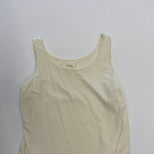 Primary Photo - BRAND: TALBOTS STYLE: TANK BASIC CAMI COLOR: CREAM SIZE: 1X SKU: 200-200207-170