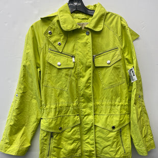 Primary Photo - BRAND: MICHAEL BY MICHAEL KORS STYLE: JACKET OUTDOOR COLOR: NEON SIZE: S SKU: 200-200199-22320