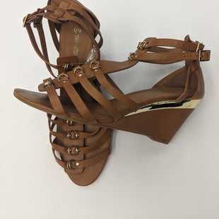 Primary Photo - BRAND: NATURE BREEZE STYLE: SANDALS HIGH COLOR: BROWN SIZE: 11 SKU: 200-200178-15001
