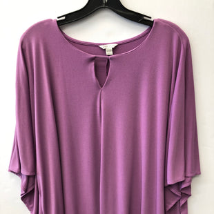Primary Photo - BRAND: CATO STYLE: TOP SHORT SLEEVE COLOR: PURPLE SIZE: 2X SKU: 200-200199-19701