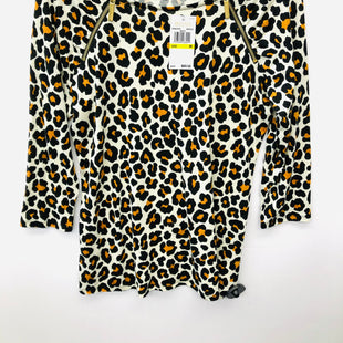 Primary Photo - BRAND: MICHAEL BY MICHAEL KORS STYLE: TOP LONG SLEEVE COLOR: ANIMAL PRINT SIZE: M SKU: 200-200204-1072