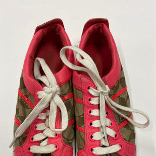 Primary Photo - BRAND: COACH STYLE: SHOES ATHLETIC COLOR: BROWN SIZE: 7 SKU: 200-20012-8742