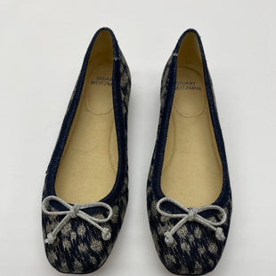 Primary Photo - BRAND: STUART WEITZMAN STYLE: SHOES FLATS COLOR: NAVY SIZE: 7.5 SKU: 200-200204-1267
