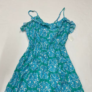 Primary Photo - BRAND: LILLY PULITZER STYLE: DRESS SHORT SLEEVELESS COLOR: BLUE GREEN SIZE: L SKU: 200-200197-34527