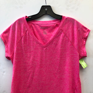 Primary Photo - BRAND: IDEOLOGY STYLE: ATHLETIC TOP SHORT SLEEVE COLOR: PINK SIZE: L SKU: 200-200178-28021