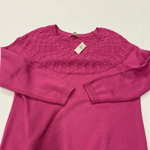 Primary Photo - BRAND: TALBOTS STYLE: SWEATER HEAVYWEIGHT COLOR: PINK SIZE: 1X SKU: 200-200178-19488