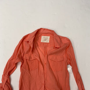 Primary Photo - BRAND: SONOMA STYLE: BLOUSE COLOR: CORAL SIZE: XS SKU: 200-200197-34924