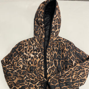 Primary Photo - BRAND: DRESS BARN STYLE: JACKET OUTDOOR COLOR: LEOPARD PRINT SIZE: L SKU: 200-200178-20940