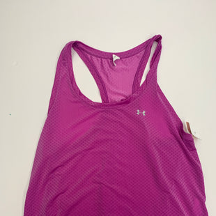 Primary Photo - BRAND: UNDER ARMOUR STYLE: ATHLETIC TANK TOP COLOR: FUSCHIA SIZE: XL SKU: 200-200178-27246
