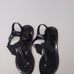 Primary Photo - BRAND: BCBGENERATION STYLE: SANDALS FLAT COLOR: BLACK SIZE: 6 SKU: 200-200197-31419