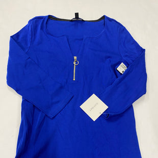 Primary Photo - BRAND: ELLEN TRACY STYLE: TOP LONG SLEEVE COLOR: BLUE SIZE: M SKU: 200-200178-25821