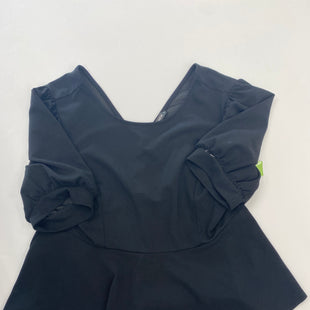 Primary Photo - BRAND: SHEIN STYLE: TOP SHORT SLEEVE COLOR: BLACK SIZE: 3X SKU: 200-200202-6032