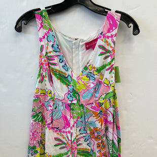Primary Photo - BRAND: TARGET-DESIGNER STYLE: TOP SLEEVELESS COLOR: WHITE PINK SIZE: S OTHER INFO: LILY PULITZER SKU: 200-200178-28279