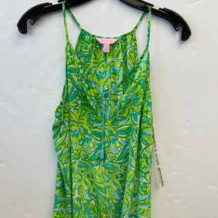 Primary Photo - BRAND: LILLY PULITZER STYLE: TOP SLEEVELESS COLOR: BLUE GREEN SIZE: L SKU: 200-200178-26492