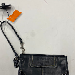 Primary Photo - BRAND: COACH STYLE: WRISTLET COLOR: BLACK SKU: 200-200202-4485