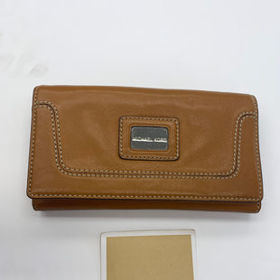 Primary Photo - BRAND: MICHAEL KORS STYLE: WALLET COLOR: BROWN SIZE: LARGE SKU: 200-200178-27749