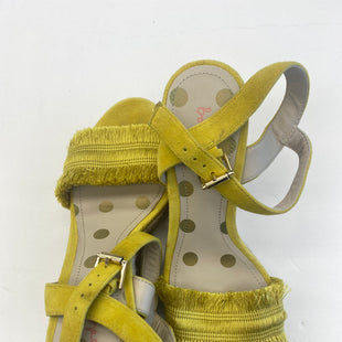 Primary Photo - BRAND: BODEN STYLE: SANDALS HIGH COLOR: YELLOW SIZE: 8 SKU: 200-200197-35727