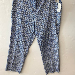 Primary Photo - BRAND: VALERIE STEVENS STYLE: PANTS COLOR: BLUE WHITE SIZE: 16 SKU: 200-200178-29586