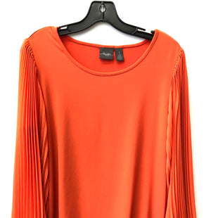Primary Photo - BRAND: CHICOS STYLE: TOP LONG SLEEVE COLOR: ORANGE SIZE: M SKU: 200-200178-28298