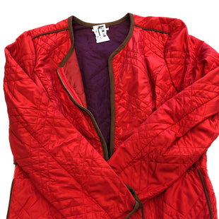 Primary Photo - BRAND: CHARTER CLUB STYLE: JACKET OUTDOOR COLOR: RED SIZE: L SKU: 200-200202-3492