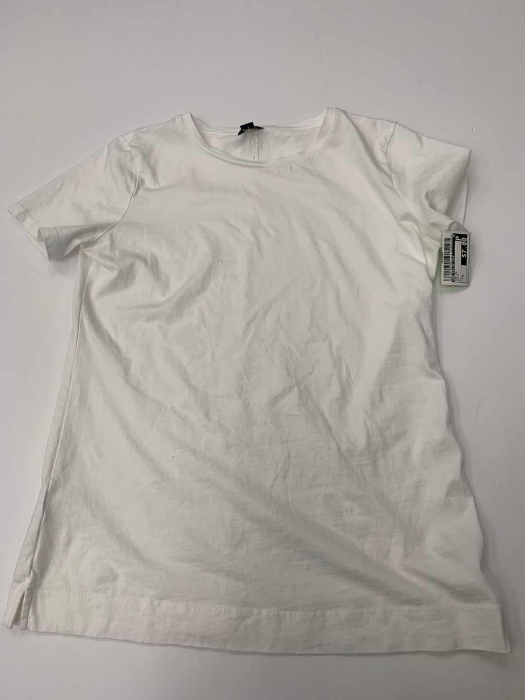 Primary Photo - BRAND: ANN TAYLOR LOFT <BR>STYLE: TOP SHORT SLEEVE <BR>COLOR: WHITE <BR>SIZE: S <BR>SKU: 200-200199-19277