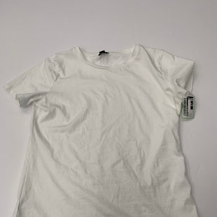 Primary Photo - BRAND: ANN TAYLOR LOFT STYLE: TOP SHORT SLEEVE COLOR: WHITE SIZE: S SKU: 200-200199-19277