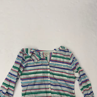 Primary Photo - BRAND: ANN TAYLOR LOFT STYLE: BLOUSE COLOR: STRIPED SIZE: S SKU: 200-200194-8177