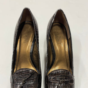Primary Photo - BRAND: ANN TAYLOR LOFT STYLE: SHOES HIGH HEEL COLOR: BROWN SIZE: 8.5 SKU: 200-200168-617
